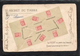 TIMBRE REPRESENTATION LE SECRET DU TIMBRE  LEOPOLD 2 - Timbres (représentations)