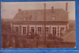 CARTE PHOTO MONCOURT 1916 SCHREIBSTUBE - Autres Communes