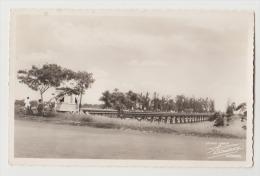 CPA CPSM Bénin Cotonou Dahomey  Le Pont Sur La Lagune 1956 Studio Armor Rouinvy - Benin