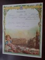 TELEGRAM Voor Backeljauw / Louis Jeanne - Verzonden 1955 Te Boom - Puurs / Belgique - Belgium !! - Faire-part