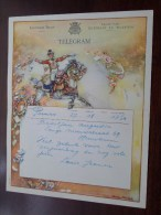 TELEGRAM Voor Backeljau - Louis Jeanne / Verzonden 1954 Te Puurs Boom / Belgique - Belgium !! - Faire-part