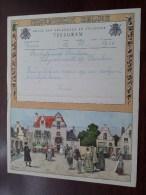 TELEGRAM Voor Bakeljauw Beulens / Louis / Verzonden 1953 Te Puurs Hemiksem / Belgique - Belgium !! - Faire-part