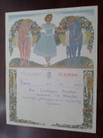 TELEGRAM Voor Backeljau Buelens / Jeanne / Verzonden 1957 Te Puurs Hemiksem / Belgique - Belgium !! - Faire-part