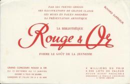 Bibliothéque Rouge Et Or /Forme Le Goût De La Jeunesse /vers 1945-1955     BUV146 - Stationeries (flat Articles)