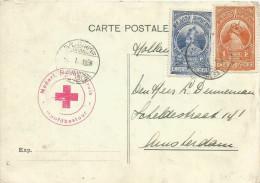 Ethiopia 1936 Addis Abeba Red Cross Croix Rouge - Cachet Nederlandsche Roode Kruis , Signatures De L'Ambulance - Ethiopië