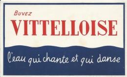 Eau / Vitelloise /L´eau Qui Chante Et Qui Danse/vers 1945-1955     BUV148 - Carte Assorbenti