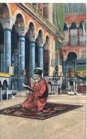CONSTANTINOPLE - INTERIOR DE STE SOPHIE 1913 - Turchia