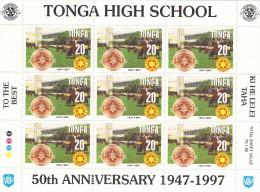 Tonga Nº 1087 Al 1090 En Minipliegos De 9 Series - Tonga (1970-...)
