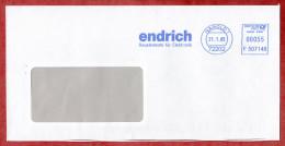 Brief, Francotyp-Postalia F507148, Endrich Bauelemente Elektronik, 55 C, Nagold 2005 (53928) - Cartas