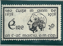Ireland 1938 SG 107-8 MM - 1922-37 Stato Libero D'Irlanda