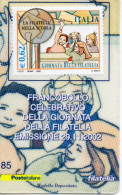 TESSERA FILATELICA--GIORNATA DELLA FILATELIA-EMISSIONE-29-11-2002 - 6. 1946-.. Repubblica