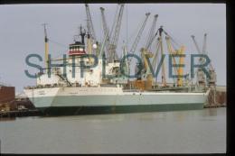 Diapositive Authentique Cargo TABUK (réf. D2242) - Ship 35 Mm Photo Slide - Bateau/ship/schiff - Bateaux