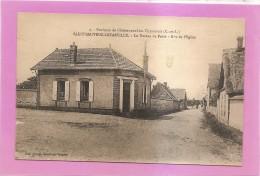 D28 - SAINT SAUVEUR LEVASVILLE - LE BUREAU DE POSTE - RUE DE L'EGLISE -ENVIRONS DE CHATEAUNEUF - état Voir Descriptif - Autres Communes