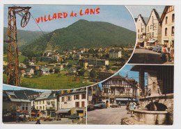 VILLARD DE LANS - MULTIVUES AVEC CITROEN DS - Ed. CELLARD - Villard-de-Lans