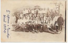 MACEDOINE - Groupe De Personnes - 1919 - CARTE PHOTO - Macédoine
