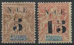 NOUVELLE-CALEDONIE - 5 Sur 30 Et 15 Sur 40 Groupe Neufs - Nouvelle-Calédonie