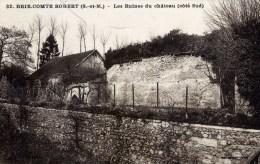 Dépt 77 - BRIE-COMTE-ROBERT - Les Ruines Du Château (côté Sud) - Brie Comte Robert