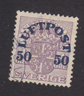 Sweden, Scott #C3, Used, Official Surcharged, Issued 1920