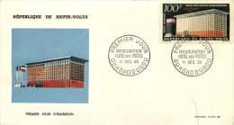 HAUTE-VOLTA  I1962  Inauguration De L'Hôtel Des Postes FDC Non-adressé - Obervolta (1958-1984)