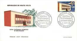 1968 - Central Téléphonique Automatisé   - FDC Non-adressé - Haute-Volta (1958-1984)