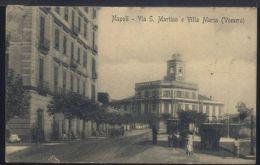 WC88 NAPOLI -  VIA S. MARTINO E VILLA MARIA ( VOMERO ) - Napoli