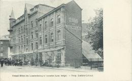 Laroche - Top Carte - Grand Hôtel Du Luxembourg  - Prop. Lahire-Laloux - 1907 ( Voir Verso ) - La-Roche-en-Ardenne