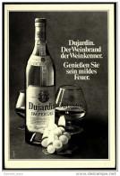 Reklame  -  Dujardin Weinbrand  -  Der Weinbrand Der Weinkenner  -  Werbeanzeige Von 1973 - Alkohol