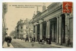 CPA 51 : REIMS   Rue Cérès Animée    1908  A  VOIR  !!!!!!! - Reims
