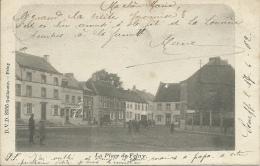 Feluy - La Place … Animée - 1902 ( Voir Verso ) - Seneffe