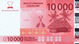 Polynésie Française - 10 000 FCFP - 2014 - N° 261107 C5 / Signatures Noyer-de Seze-La Cognata - Neuf  / Jamais Circulé - Papeete (Polynésie Française 1914-1985)