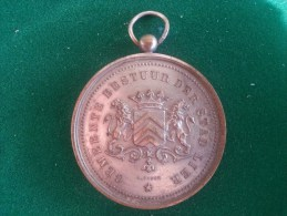 Stad Lier, Akademie Lier 1e Prijs Huisbouw, Alf. Raymaekers (A. Fisch), 43 Gram (medailles0072) - Autres