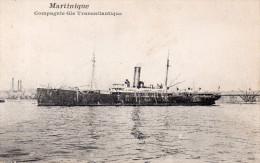 """Compagnie Générale Transatlantique """" MARTINIQUE"""" - Paquebots"""