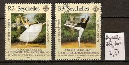 Seychelles 599-600 Oblitérés Côte 2.50 € - Seychelles (1976-...)
