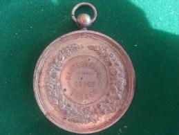 Merxem, Maatschappij Ceres, Tentoonstelling Tuin En Landbouw Voortbrengselen (Van Deuren), 62 Gram (medailles0082) - Autres