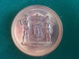 Katholieke Werkmansvereeniging Vrede St. Amands Antwerpen, 1900 (Mauquoy), 44 Gram (medailles0084) - Autres