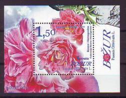 BiH Bosnia 2014 Y Flora Flowers Bozur Block MNH - Bosnie-Herzegovine