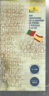 2010 Bollettino Correos XXV Aniversario De La Adesion De Espana Y Portugal A La Cee - Europa-CEPT