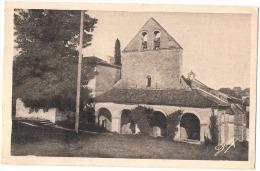 RAUZAN église    Timbrée TTB - France