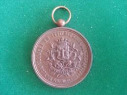 Toneel En Letterkundige Maatschappij, De Verbroedering, Vaandelinh. 21/9/1890, 47 Gram (medailles0093) - Belgique