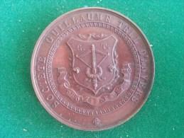 Societe Guillaume Tell D'Anvers, Exposition Triennale De 1846, 50 Gram (medailles0095) - Belgique