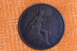 Monnaie Grande-Bretagne De 1/2 Penny De 1932 En TTB.(Monnaie Plus Belle Que Photo) - 1816-1901 : Frappes XIX° S.