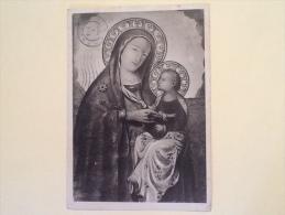MADONNA CON BAMBINO DIPINTO VIAGGIATA Z - Vergine Maria E Madonne