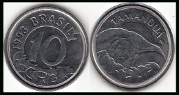 BRASILE 10 Cruzeiros Reais 1993 KM#628 - Used - Brasile