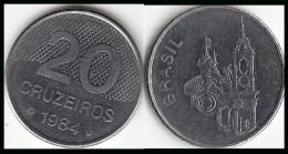 BRASILE 20 Cruzeiros 1984 KM#593.1 - Used - Brasile