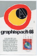 Tarjeta Maxima De1966 Graphispack - Spagna