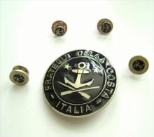 5 Pezzi  FRATELLI  DELLA COSTA ITALIA ORGANIZAZZIONE  MARINAI      PINS PIN'S    ITALY ITALIE - Associazioni