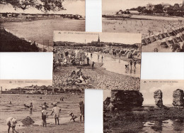 LOT 20 CARTES - 11 ROYAN - 5 PORNICHET - 1 LE POULIGIEN - 1 ST PALAIS SUR MER - 1 PORNIC - 1 SAINT POL DE LEON. - Ansichtskarten