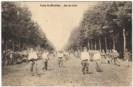 04242g JEU De BALLE - PELOTE? - Camp De Beverloo - 1910 - Leopoldsburg (Kamp Van Beverloo)