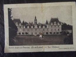 Chromos Quintonine Chateau Saone Et Loire Saint Jean Le Priche - Sonstige