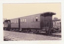 CHEMINS DE FER - TRAINS - VERITABLE PHOTO 13,9 X 8,9 - SCAN RECTO-VERSO - - Trenes